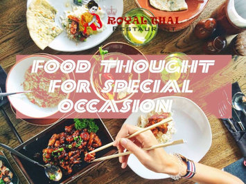 Food Thought For Special Occasion