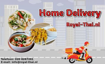 Home Delivery Thai Restaurant in Amsterdam