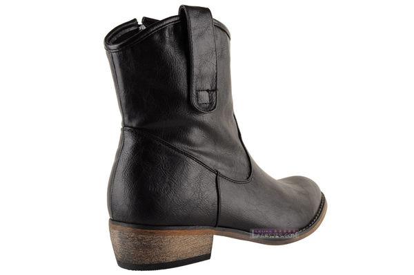 | Fabulous Fabs Zwarte basic laarzen